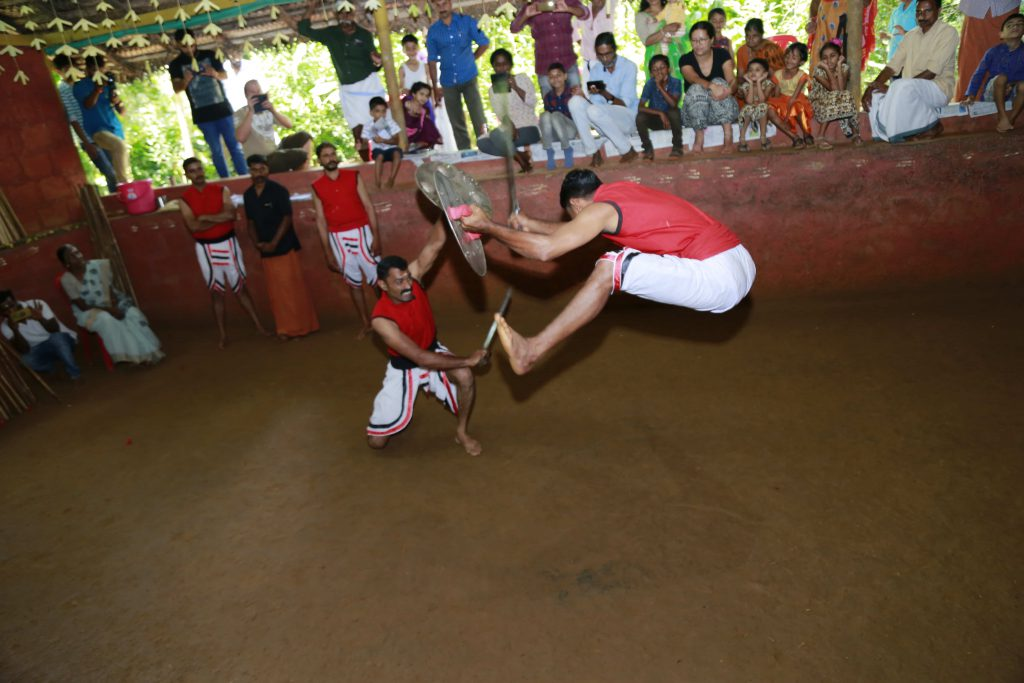Kalaripayattu stage shows