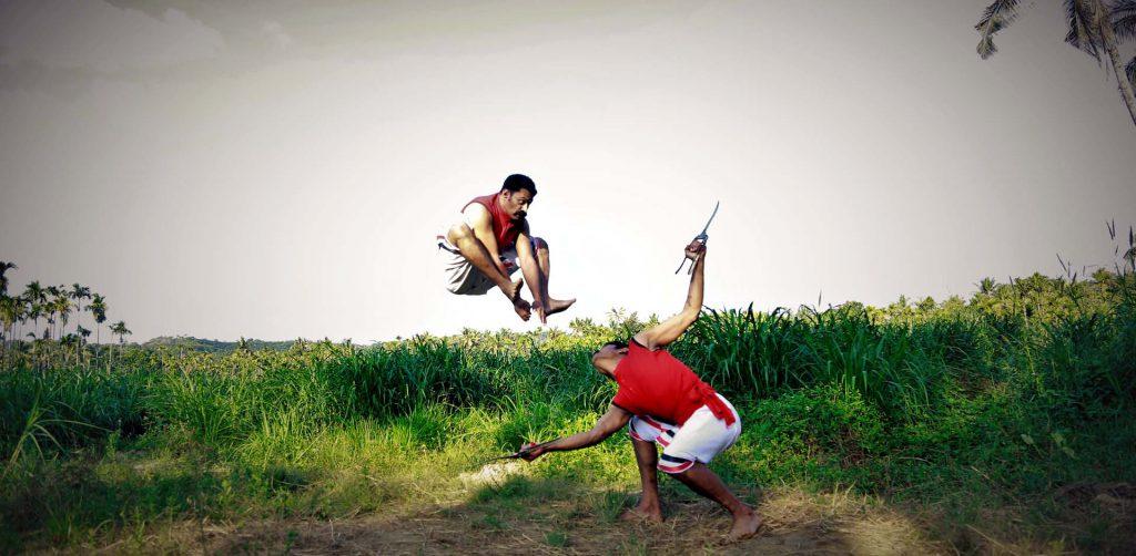 Indian martial arts Kalaripayattu