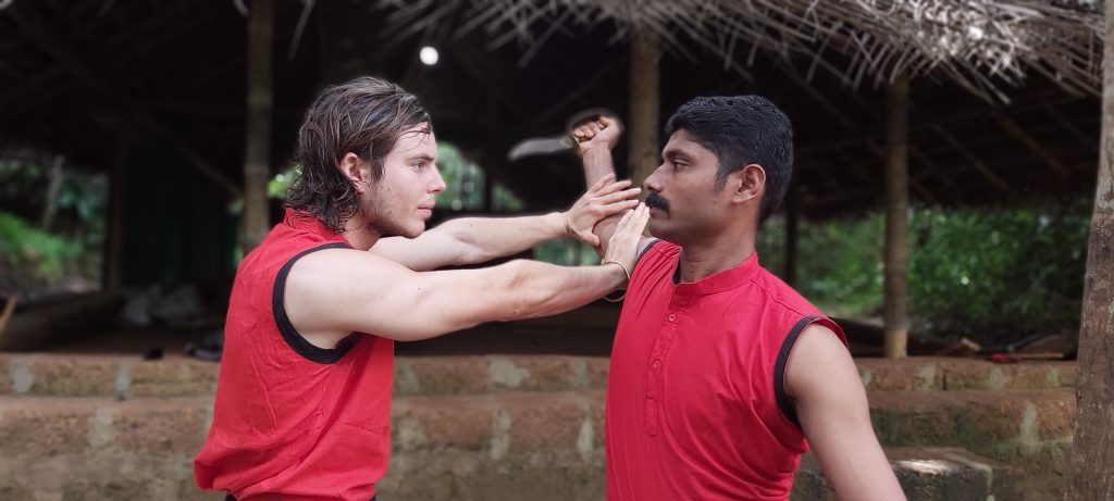Kalari training in Kerala