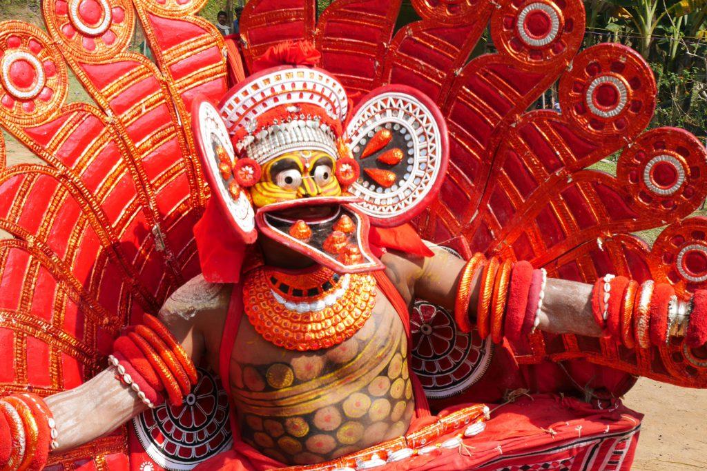 Theyyam Kerala art from kalaripayattu