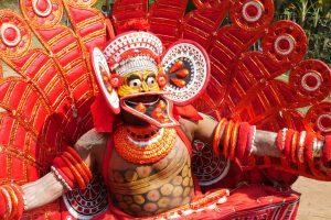 theyyam Kerala art