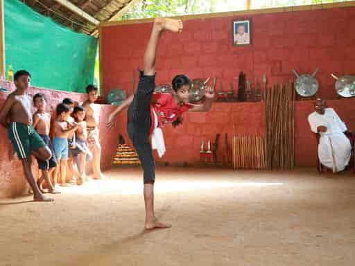 maithari form of kalaripayattu training