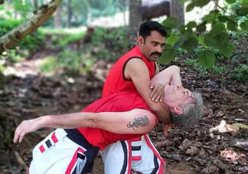 self defence technique training
