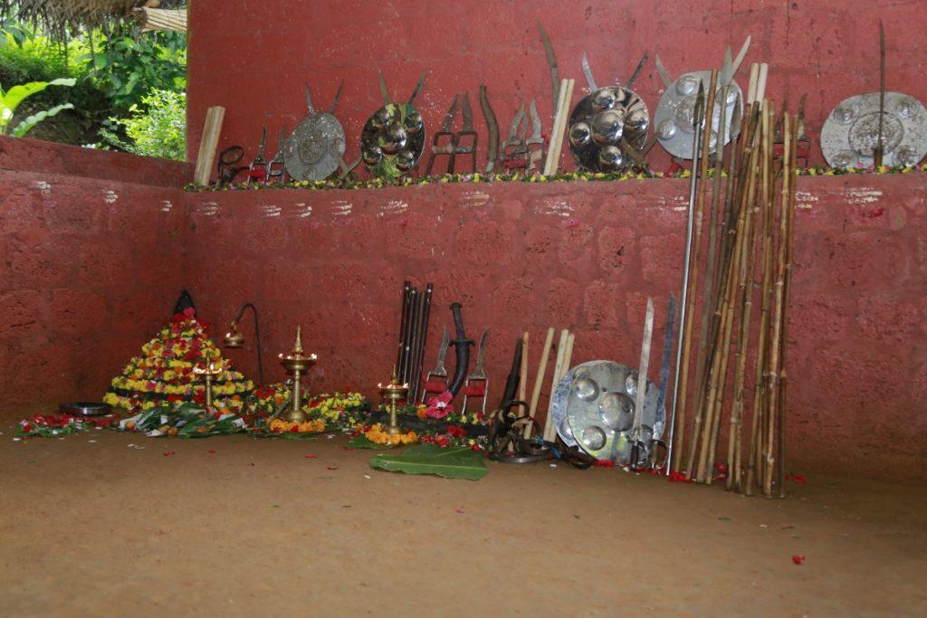 kalaripayattu schools in Kerala