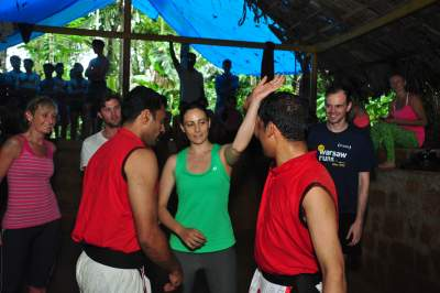 Kalaripayattu with women self-defense